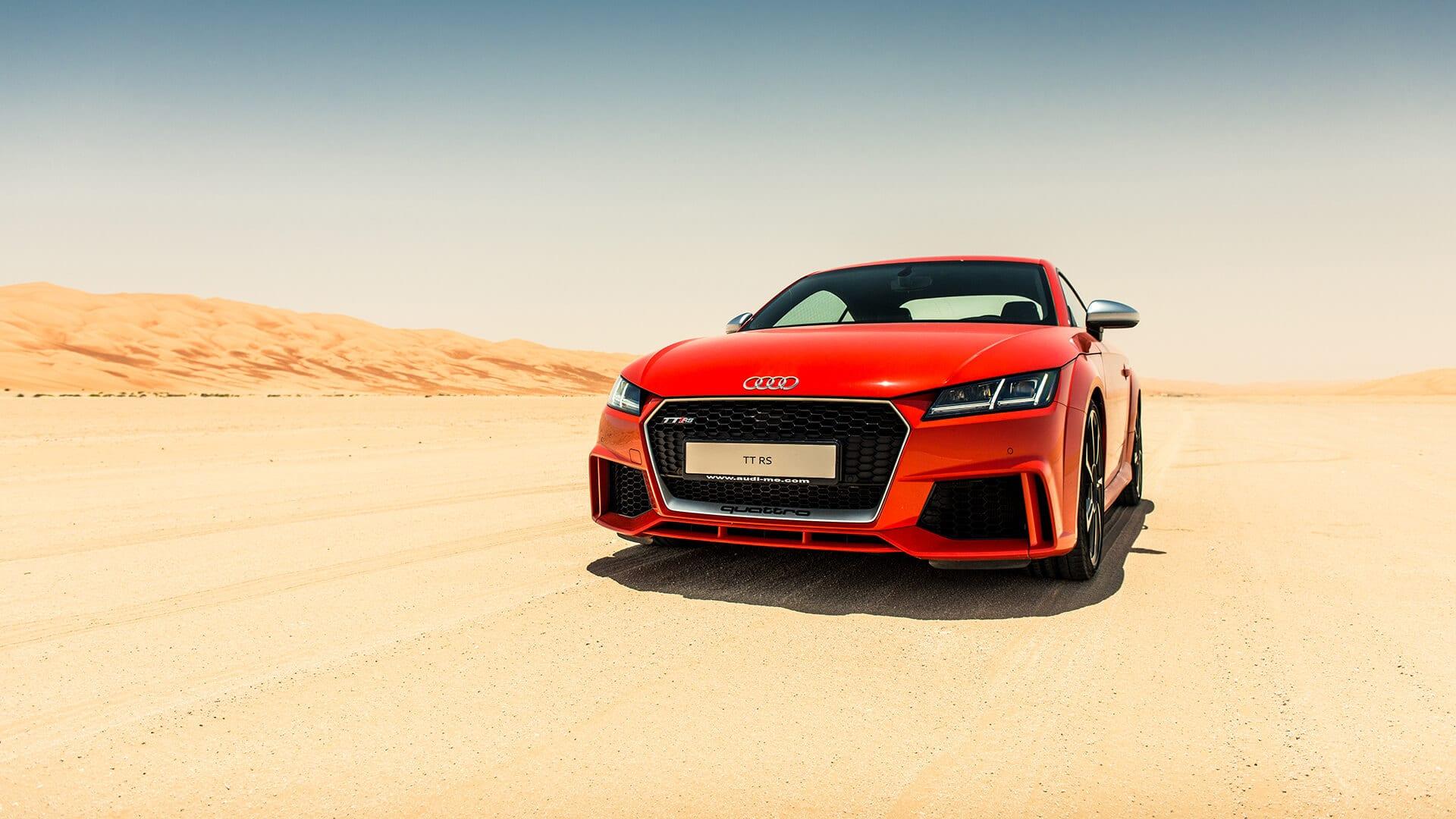 Audi TTRS Coupe' 2019 > Audi TT 2019 > Audi Abu Dhabi