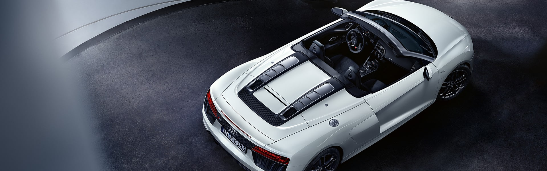 The new Audi R8 Spyder V10 RWS