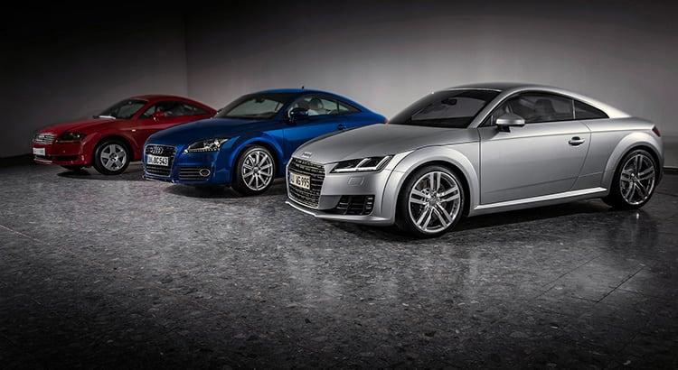 The Evolution Of An Icon Audi Tt Coupe Audi Tt Audi Abu Dhabi